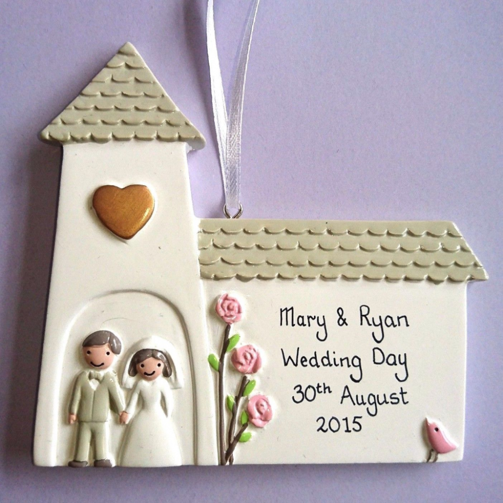 Personalised Church with Mr & Mrs